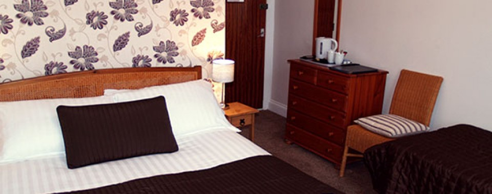 Family En-suite from £70 per night including breakfast