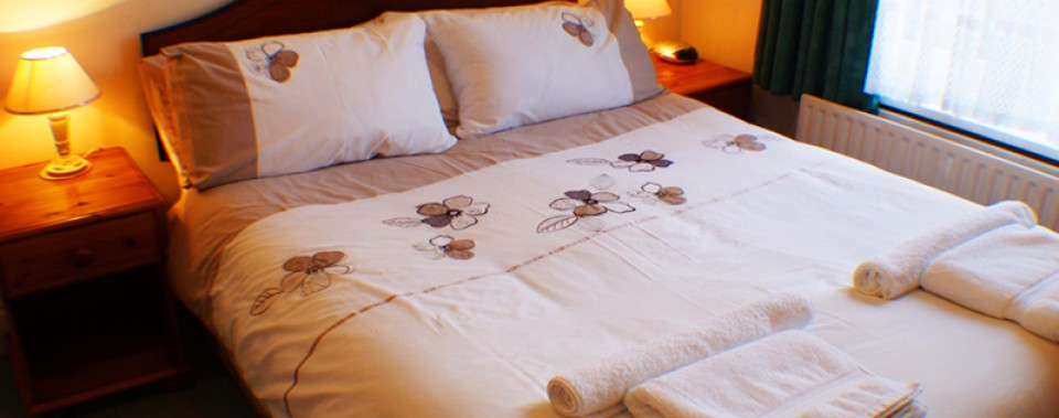 Double en-suite from £55 per night including breakfast