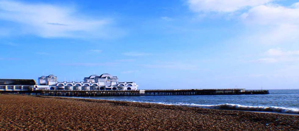 Southsea Beach is only 2 minutes walk from Esk Vale.