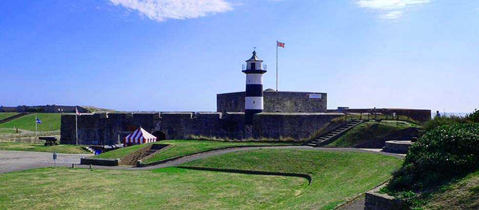 Southsea Castle built by Henry VIII just 10 minutes from Esk Vale.