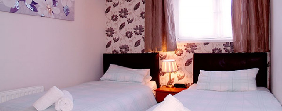 Twin room from £55 per night including breakfast